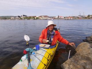 80 jährige sommer 2014 jim unterwegs kanu schweden herum